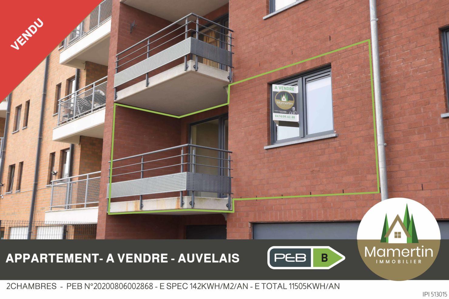 Appartement lumineux - Rue Chalres Heuze 63a à 5060 Auvelais